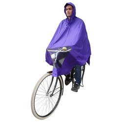 Hooodie Poncho One-Size-Fits-All Paars