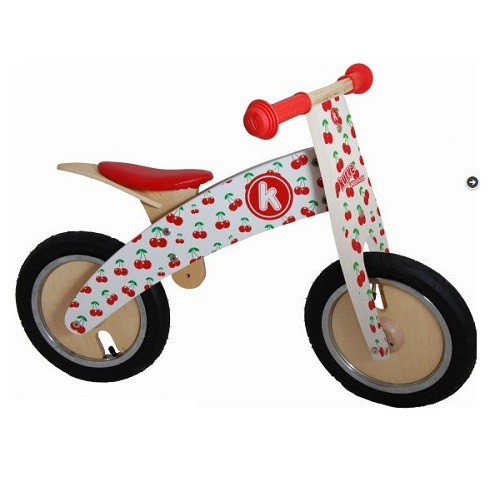 Kiddimoto Loopfiets Kurve Cherry