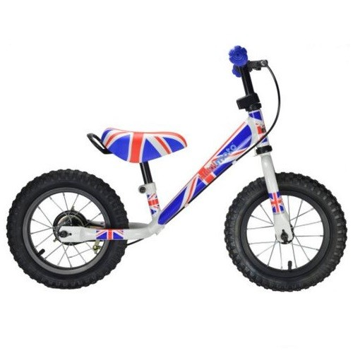 Kiddimoto Loopfiets Super Junior - Union Jack