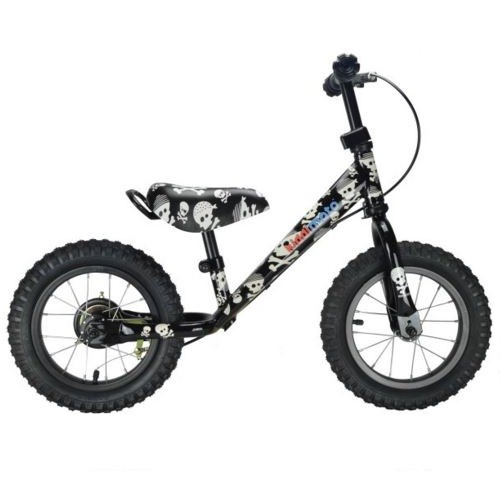 Kiddimoto Loopfiets Super Junior - Skullz