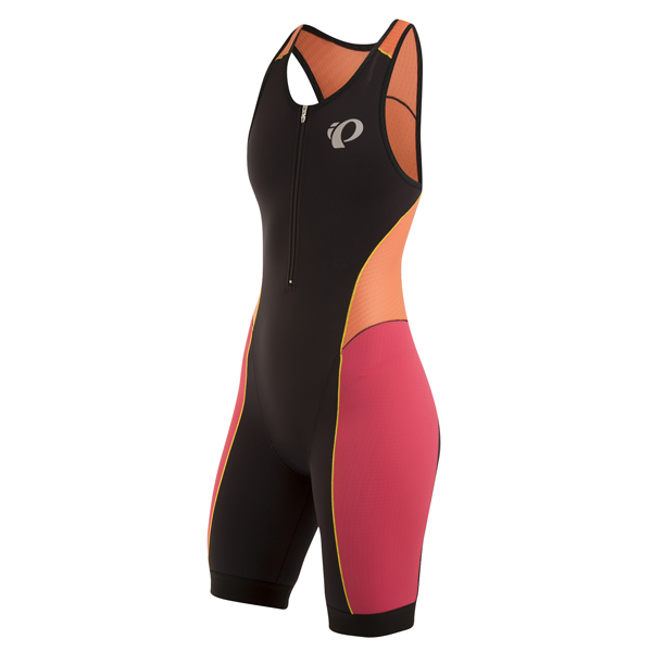 Pearl Izumi Pursuit Triathlon Pak Dames Zwart/Oranje - XL