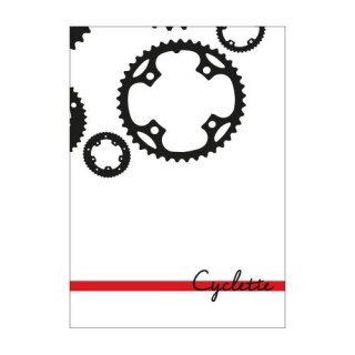 Cyclette Ansichtkaart - Cranks (1)