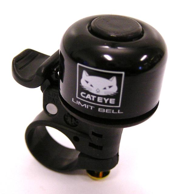 Cateye Fietsbel Limit Mini PB800 Zwart
