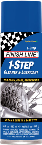 Finish Line Clean & Lube 1 Step Spuitbus 180ml