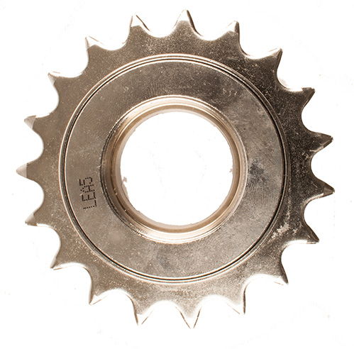 Sturmey Archer Freewheel 19 Tands 3/32 Inch Chroom