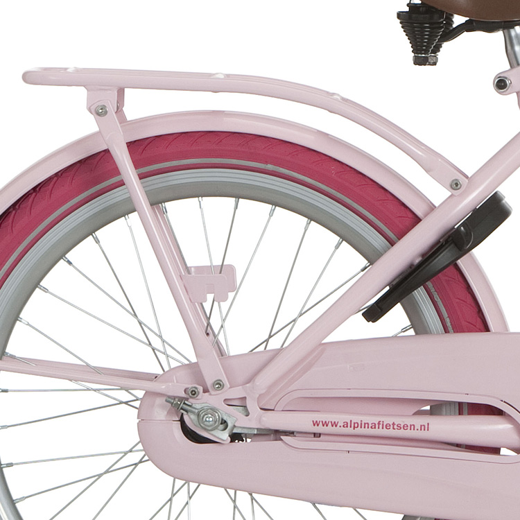 Alpina Clubb Bagagedrager 22 Inch - Roze