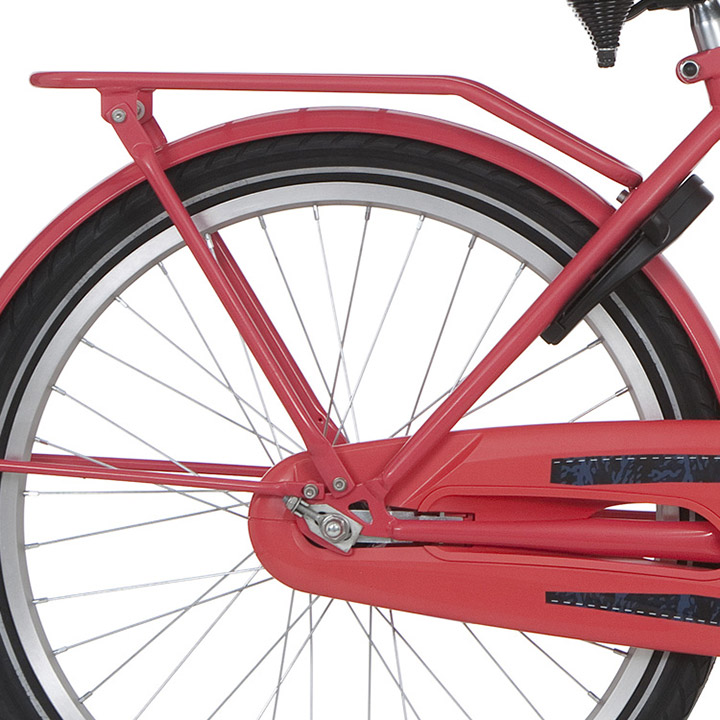 Alpina Bagagedrager Cargo 22 Inch Rood