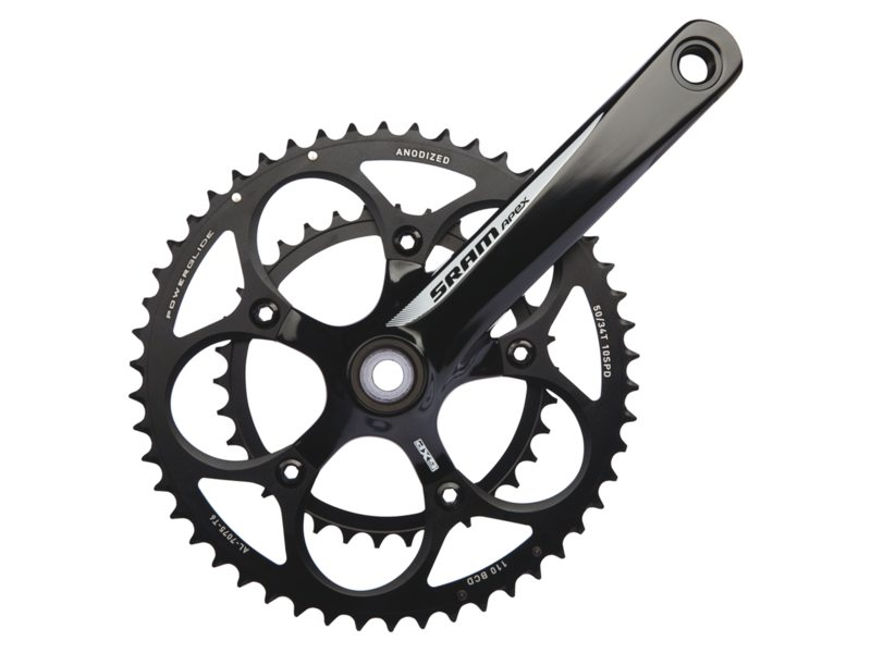 Sram Crankstel Apex 50/34 Tands Zwart 170mm GXP