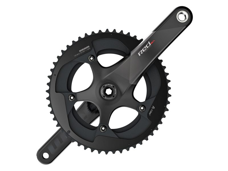 Sram Red22 Crankstel 39/53T 172.5mm - Zwart