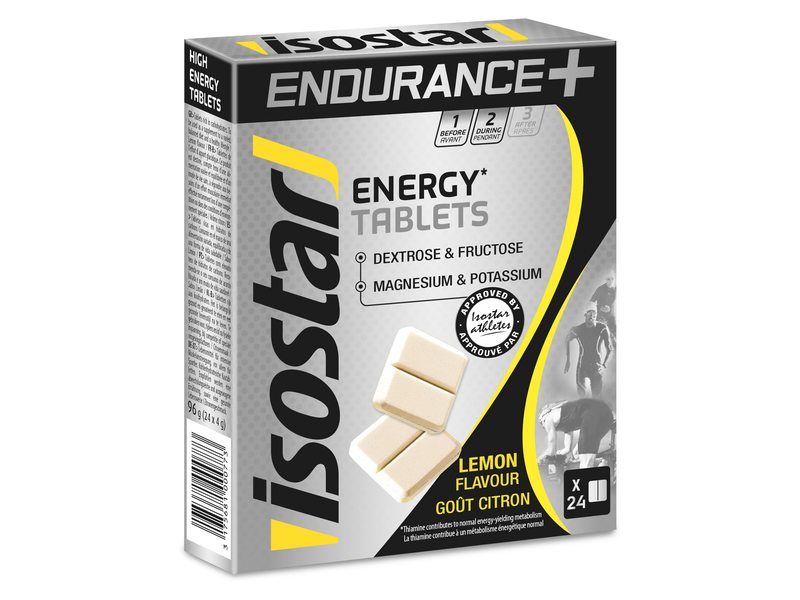 Isostar Energy Tablets Lemon