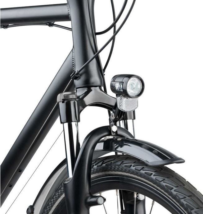 AXA Koplamp Blueline 30 Lux E-Bike - Zwart