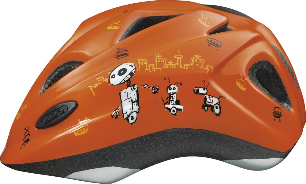 Abus Fietshelm Chilly Zoom Robot / Orange S 48048