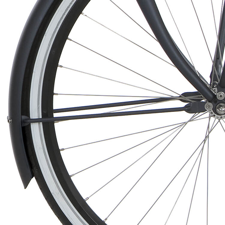 Cortina U4 Transport Spatbordstang 28 Inch 350mm - Star Gray