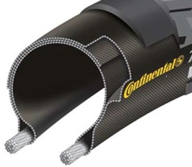 Continental Tour Ride Buitenband 26x1 3/8x1 1/2\