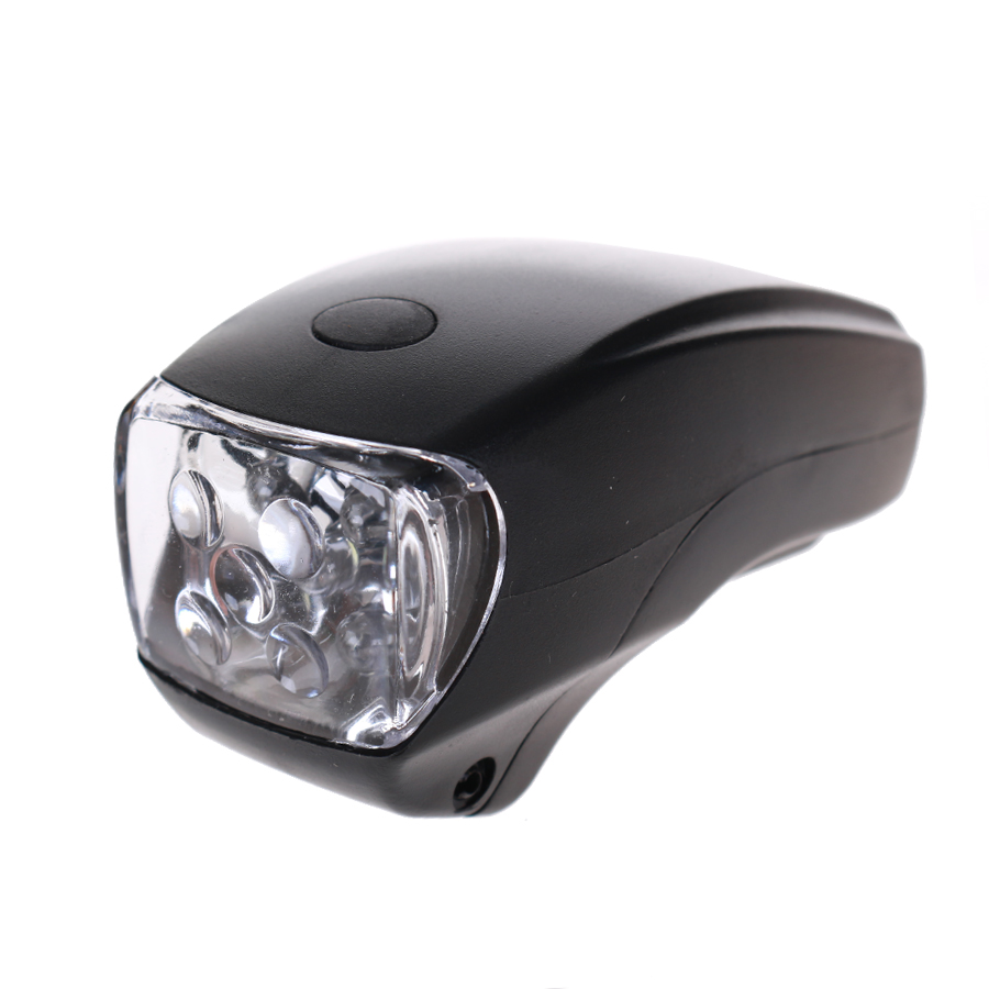 HBS Koplamp 5 LED 3xAAA - Zwart