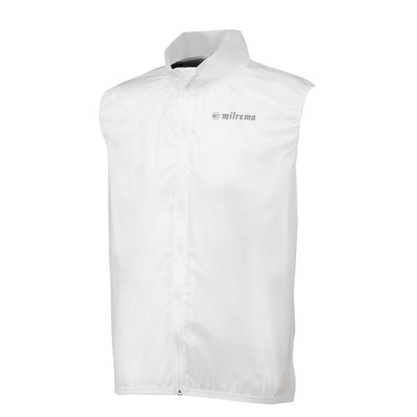 Milremo Regenvest Rain Shell Clear Body Transparant - L
