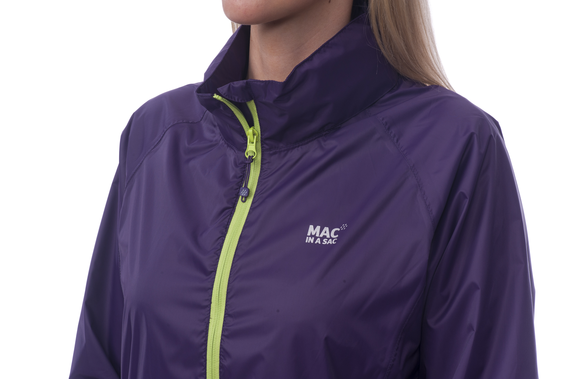 Mac in a Sac Regenjas Grape - Maat L