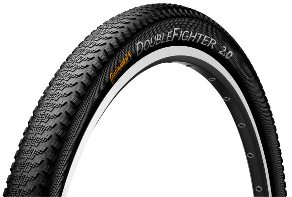 Continental Double Fighter III Buitenband 27.5x2.0\