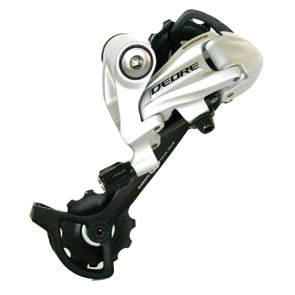 Shimano achterderailleur RD-M591 Deore 9v zilver top