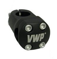 VWP A-head Stuurpen BMX 45mm 1 Inch Mini/Junior/Expert Zwart