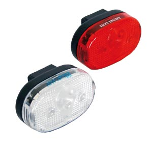 IKZI fietsverlichting set 3 led