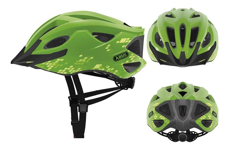Abus Fietshelm S Cension Groen Medium (54-58 cm)