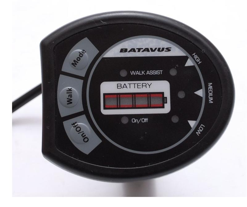 Batavus Protanium Li-Ion Display 3Step Zwart