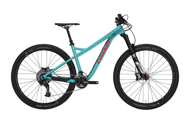 Conway WME MT 829 Heren 29er 44cm 22V - Turquoise/Rood
