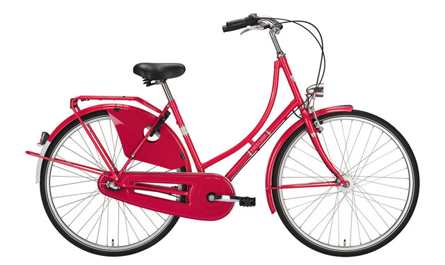 Excelsior Classic Omafiets 28 Inch 50cm 3V Rood