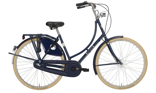 Excelsior Luxus ND Omafiets 56cm 3V - Donker Blauw