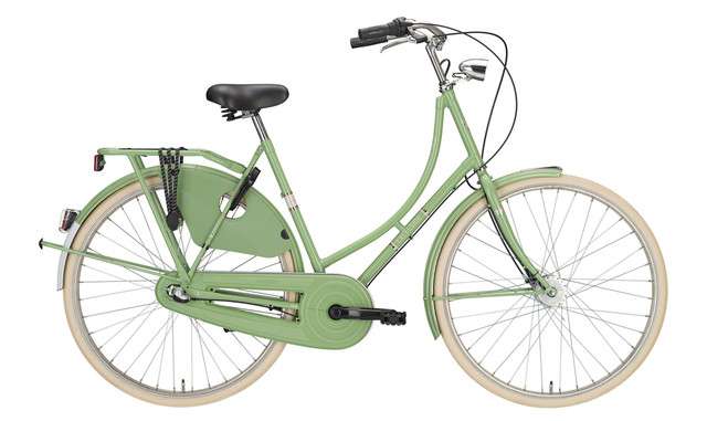 Excelsior Luxus Omafiets 28 Inch 50cm 3V Pale Green