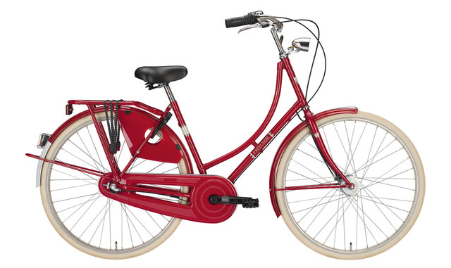 Excelsior Luxus Omafiets 28 Inch 56cm 3V Queens Red