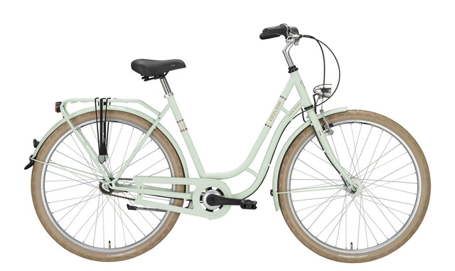 Excelsior Swan-Retro Damesfiets 28inch 53cm 3V Icemint
