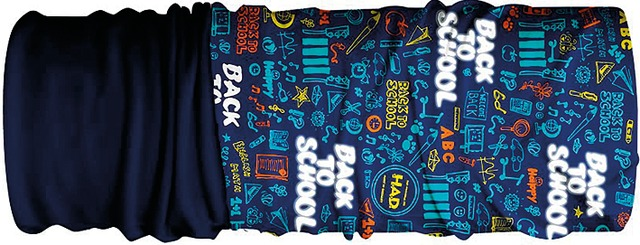 H.A.D. Multifunctie Doek Junior Fleece - Back to School