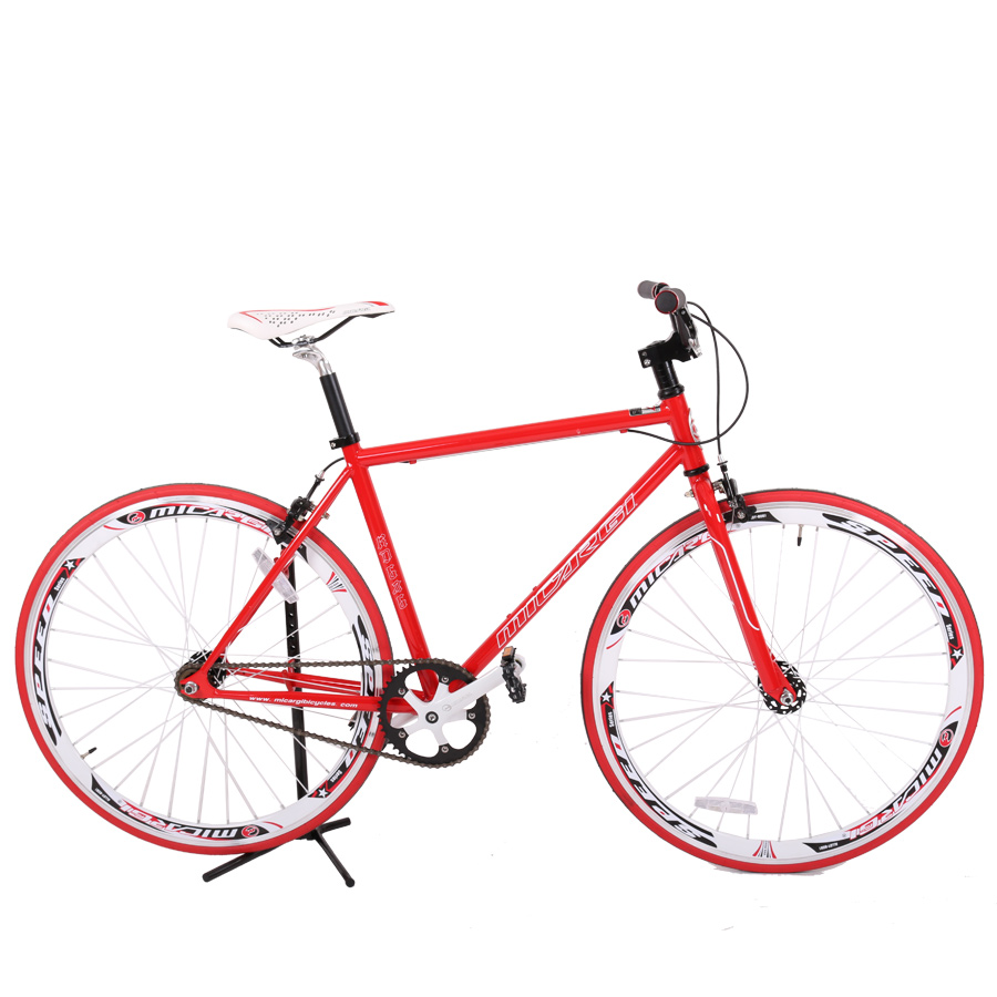 Micaragie Fixie Fiets - Rood