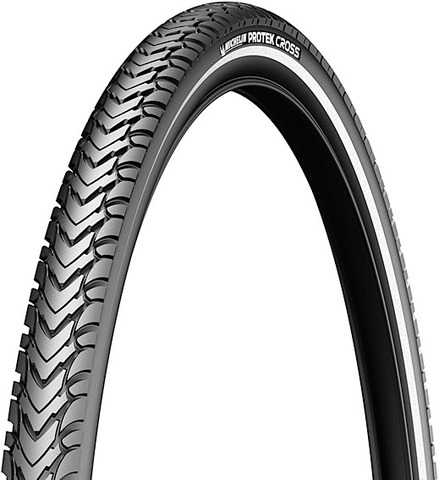 Michelin Buitenband Protex Cross 28 x 1.75 - Zwart