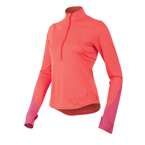 Pearl Izumi Dames Running Shirt Fly LM Rood - Maat L