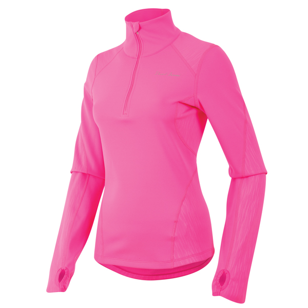 Pearl Izumi Dames Running Shirt Fly Thermal Roze - Maat L