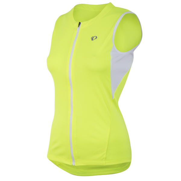 Pearl Izumi Dames Singlet Select Screaming Yellow - Maat XL