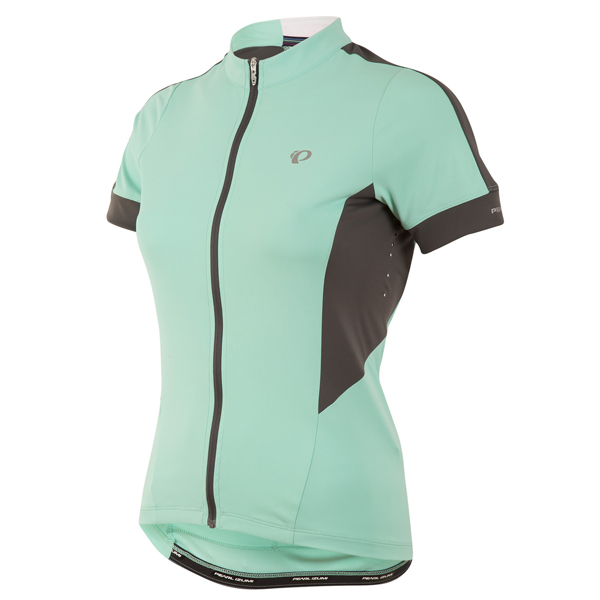 Pearl Izumi Elite Pursuit Shirt KM Dames Maat XL - Aqua