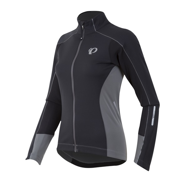 Pearl Izumi Elite Pursuit Softshell Jack Dames Zwart - S