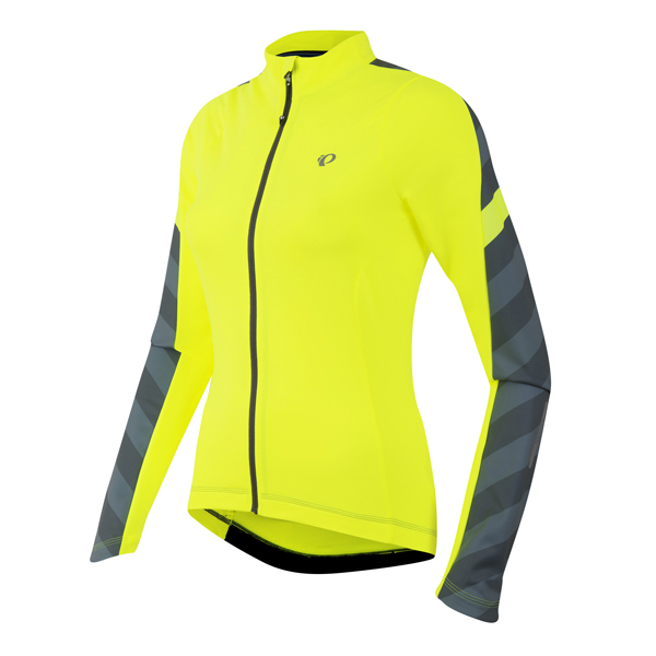 Pearl Izumi Elite Pursuit Thermal Jersey Dames Zwart - XL