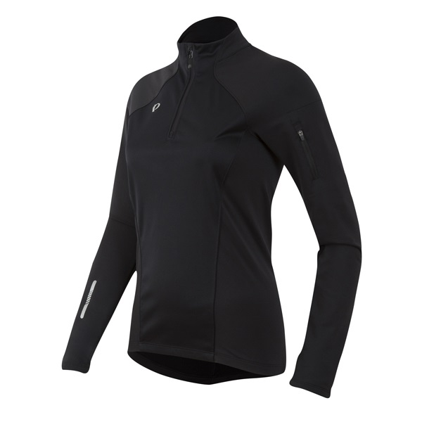 Pearl Izumi Pursuit Wind Thermal Shirt Dames Zwart - M