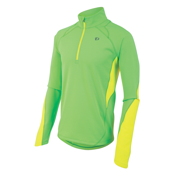Pearl Izumi Running Shirt Fly Thermal LM Groen/Geel - M
