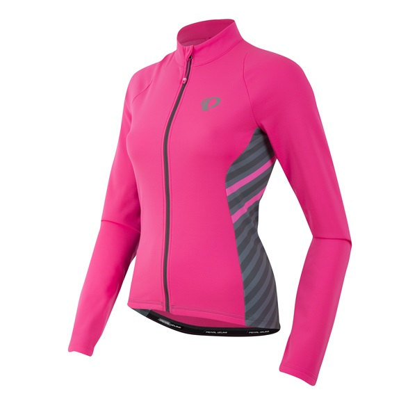 Pearl Izumi Select Pursuit Thermal Jersey Dames Roze - XS