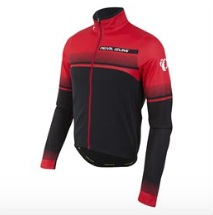 Pearl Izumi Select Thermal LTD Fietsshirt Zwart/Rood - S