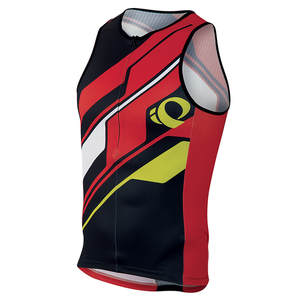 Pearl Izumi Singlet Elite In-R-Cool LTD Tri Rood - Maat M
