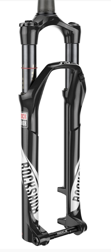 Rockshox SID World Cup 27.5 100mm Steekas OneLoc - Wit