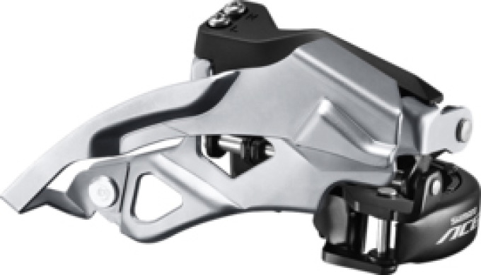 Shimano Voorderailleur Acera 3 x 9V Dual Pull 63-66 T-Swing