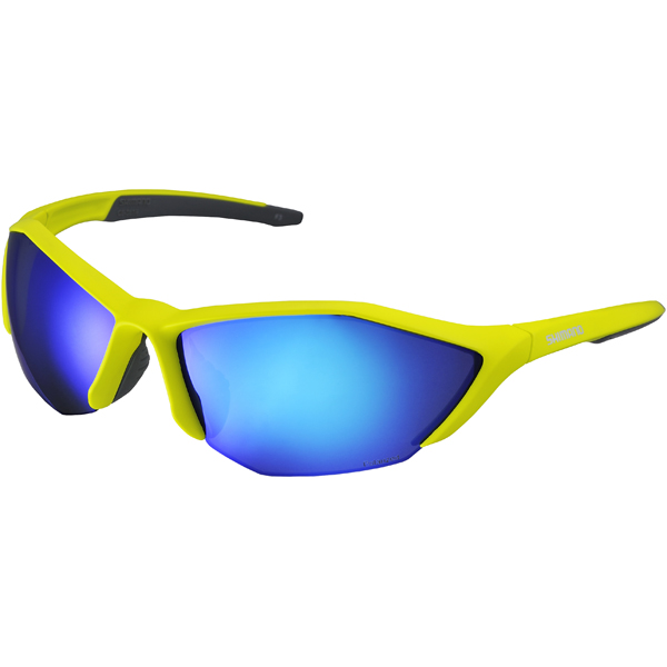 Shimano Zonnebril S61R Polarized Lime/Geel